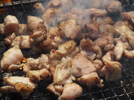 地鶏の焼き鳥