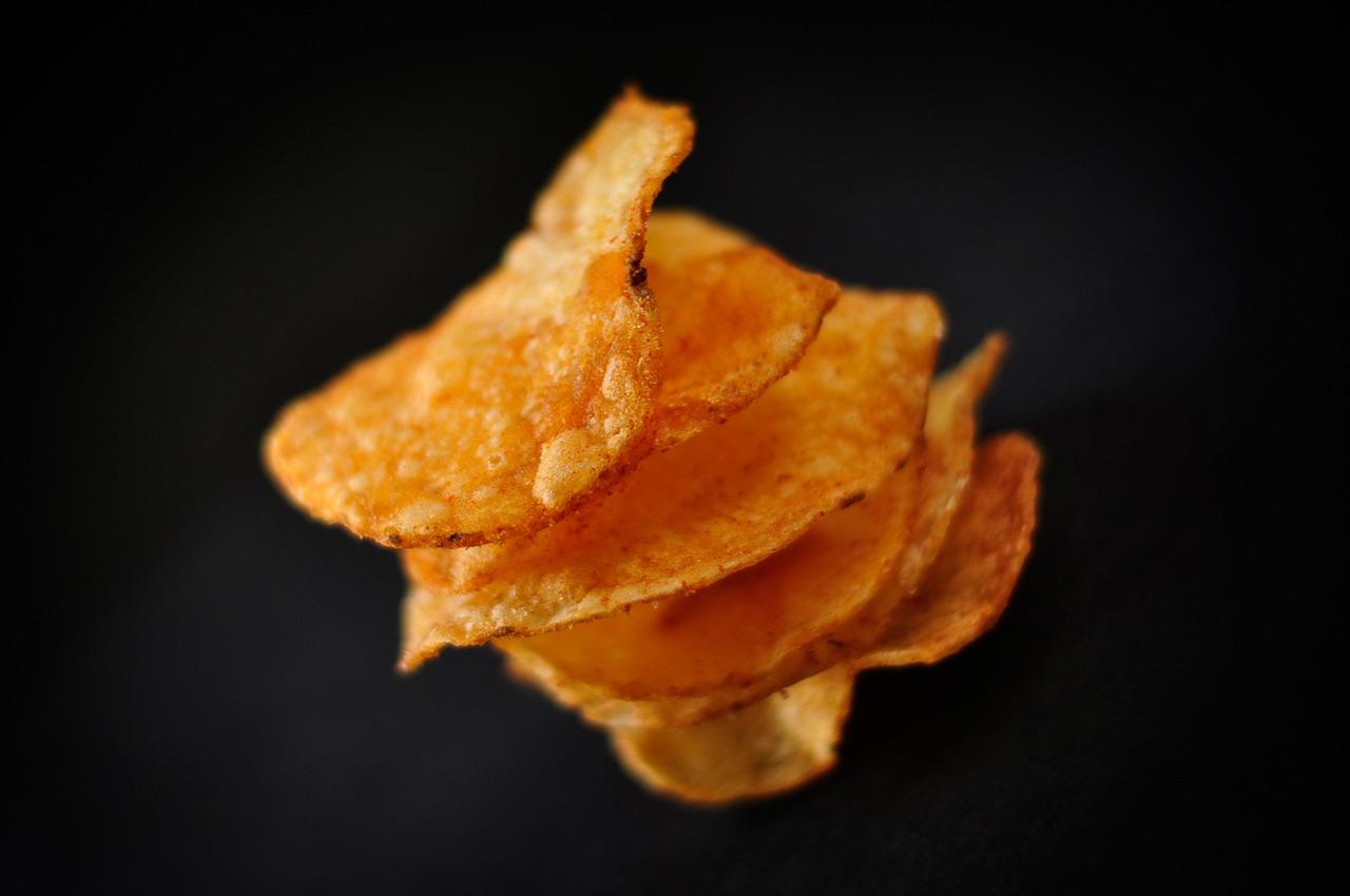 ポテトチップスのカロリー